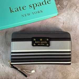 ♠️ Kate Spade Canvas Cameron Street Wallet